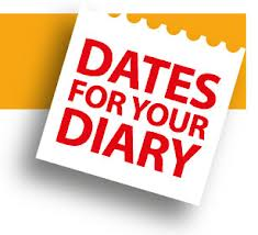 Dates for Diary